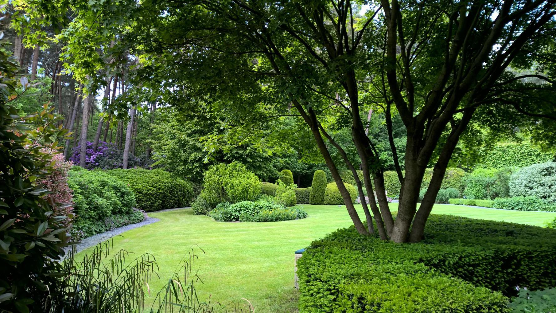 Tuinaanleg en tuinontwerp antwerpen tuinaannemingen aerts for Tuinaanleg modern